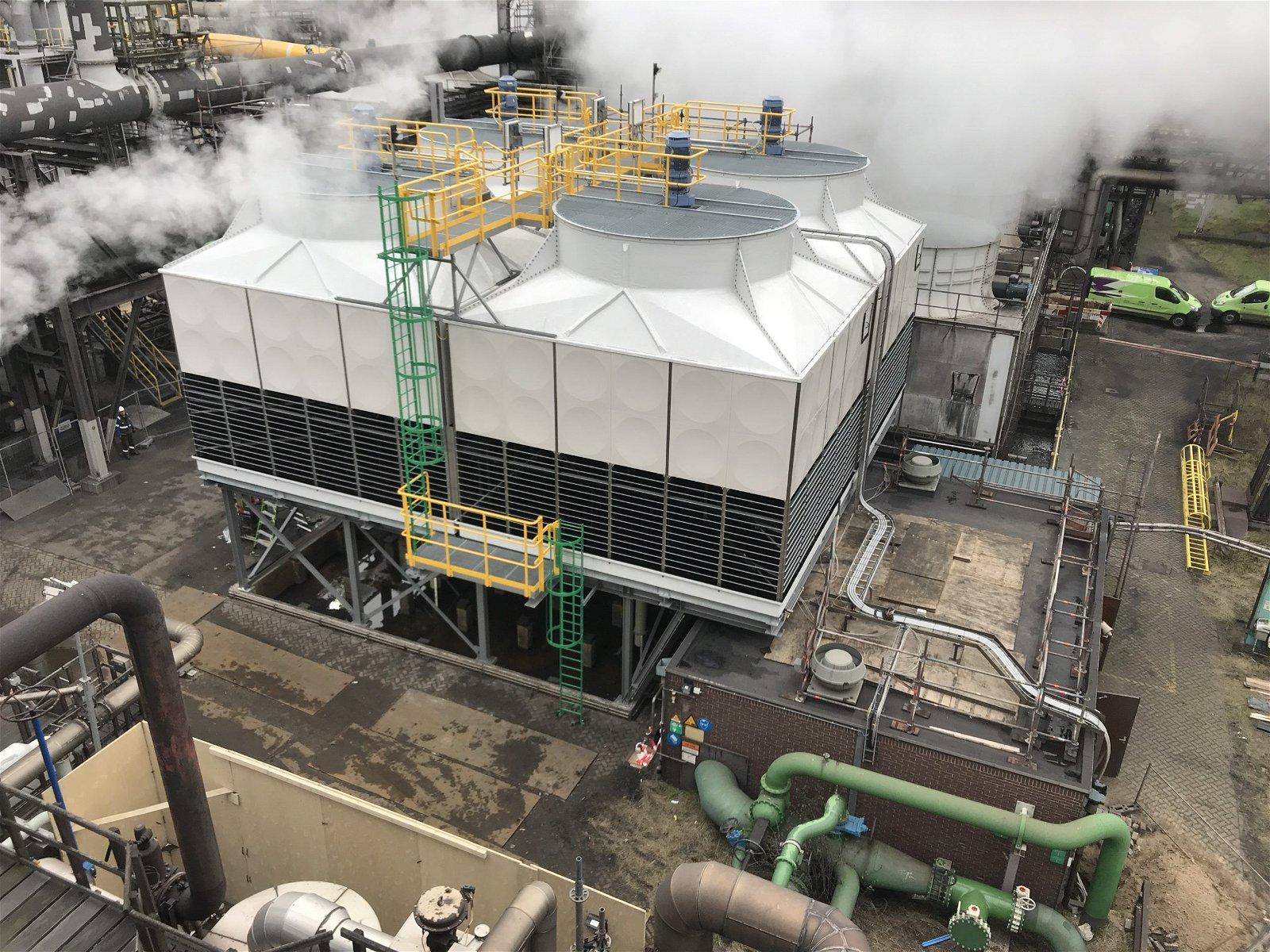 Vervanging koeltoren Tata Steel IJmuiden