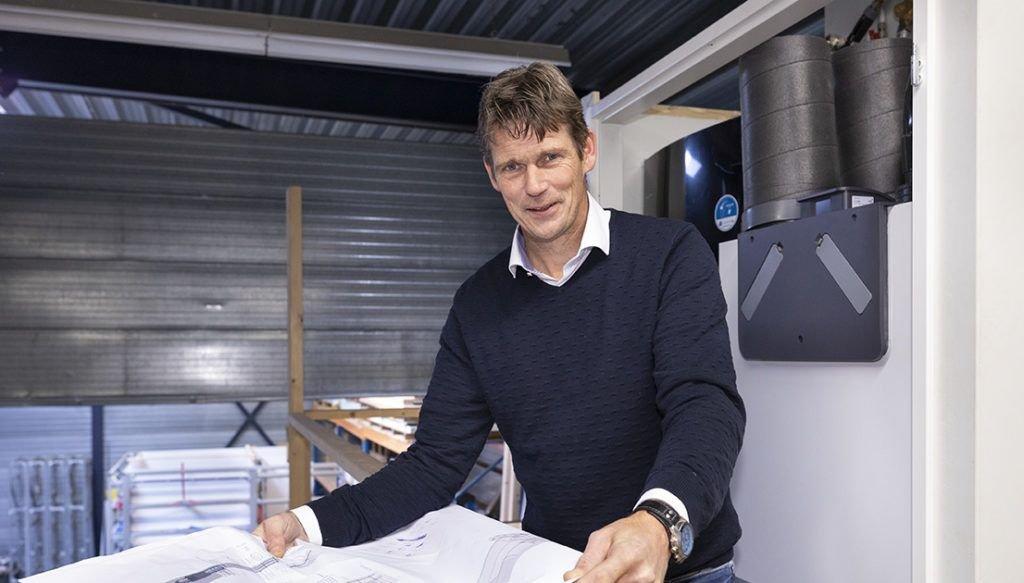Projectleider Gerben Geelen bij Hoppenbrouwers Techniek