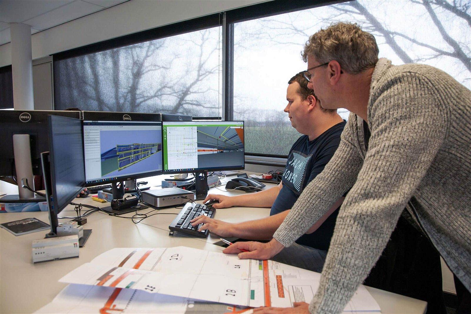 De BIM-werkwijze zorgt voor een efficiënter bouwtraject