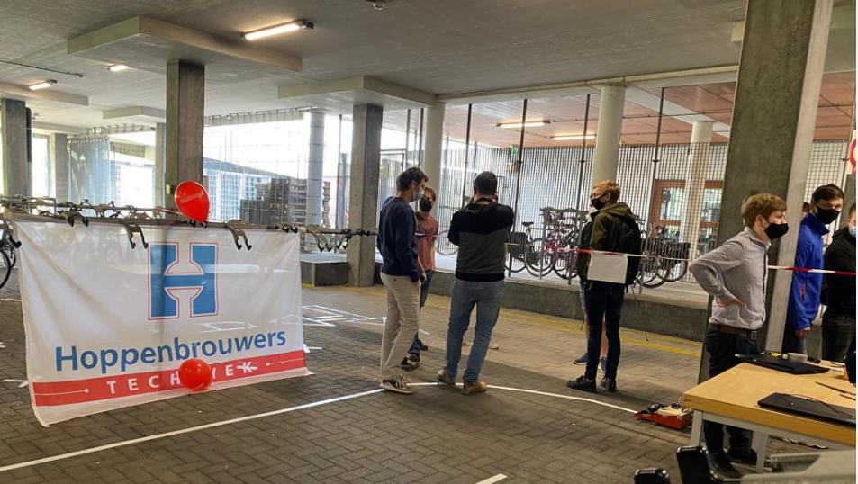 Hoppenbrouwers sponsort studenten Windesheim