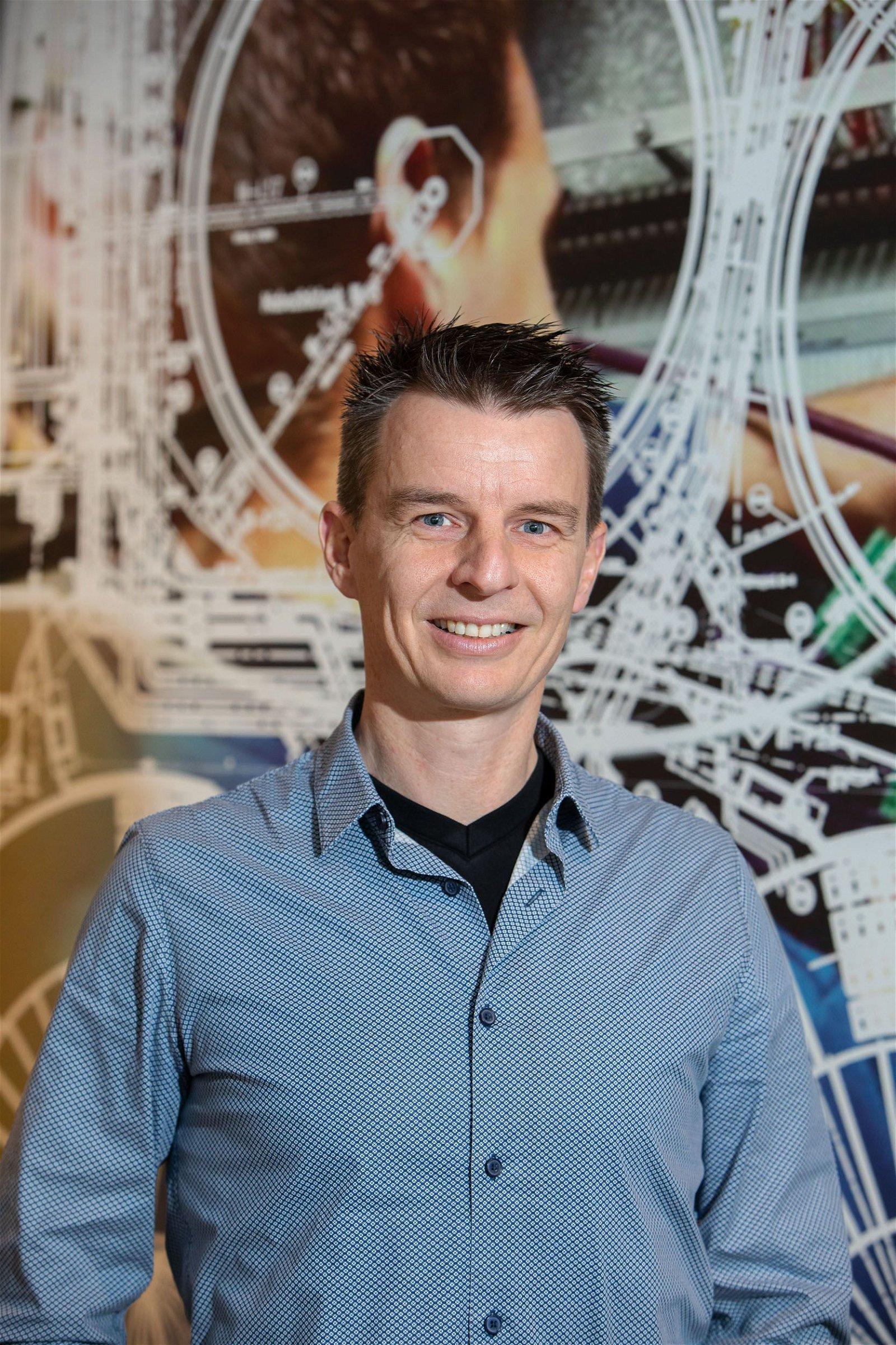 Projectleider Bjorn van Grinsven bij Hoppenbrouwers Techniek