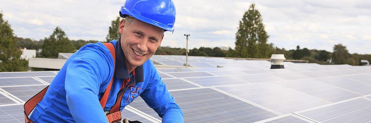 Monteur Duurzame Energie zonnepanelen