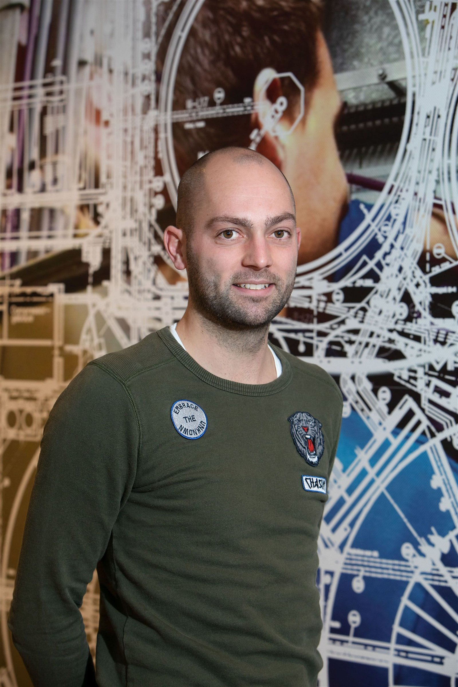 Projectcoördinator Ward Bertens Hoppenbrouwers Techniek