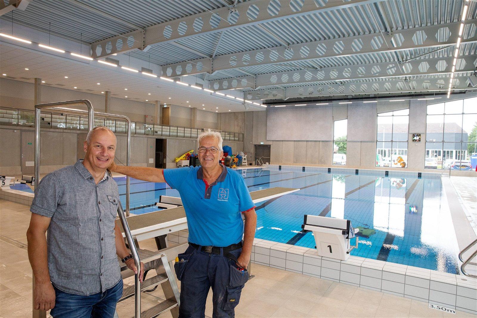 Zwembad Valkenhuizen volledig gasloos
