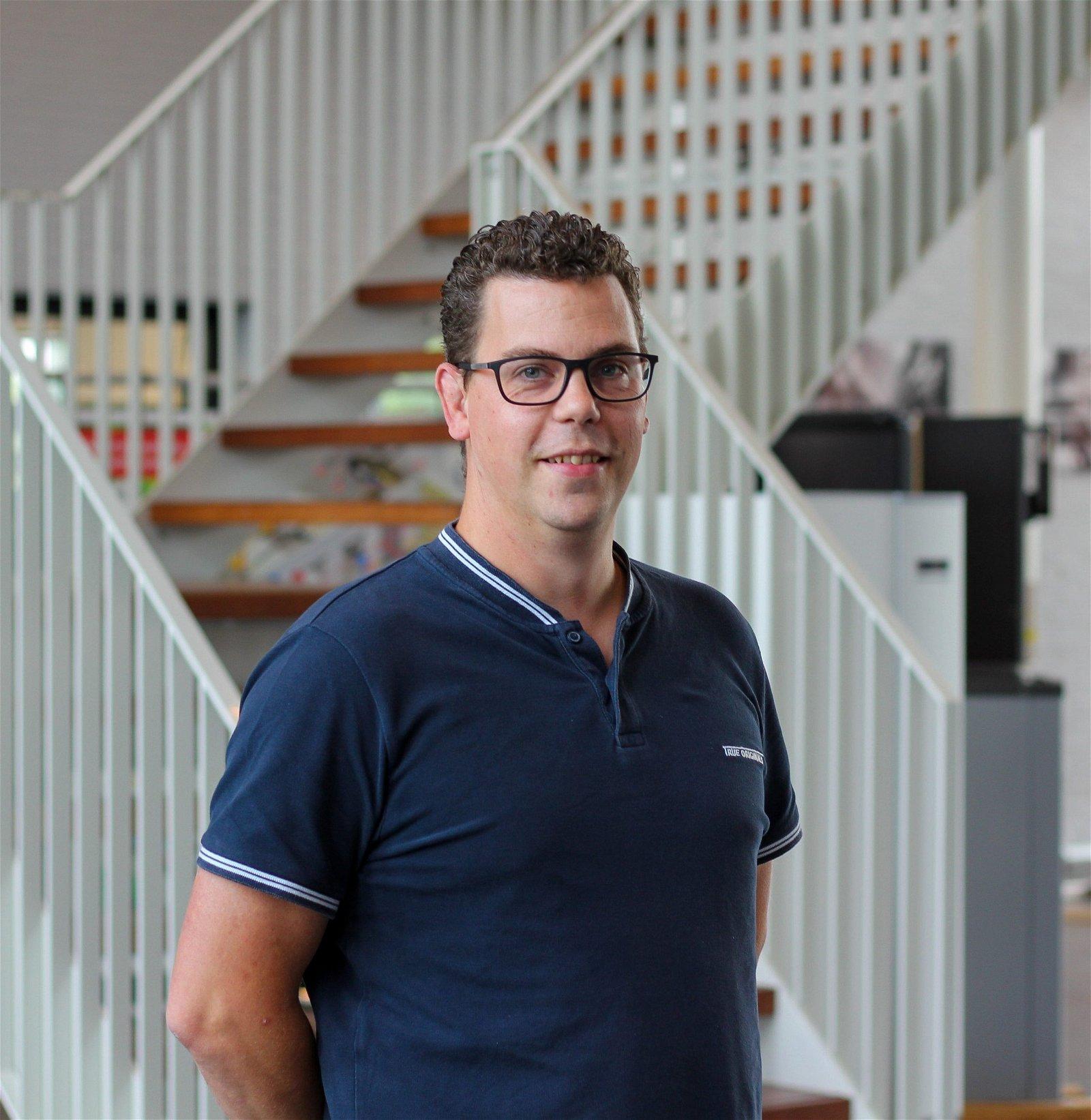 Jeroen van den Hoof Projectleider bij Hoppenbrouwers Techniek