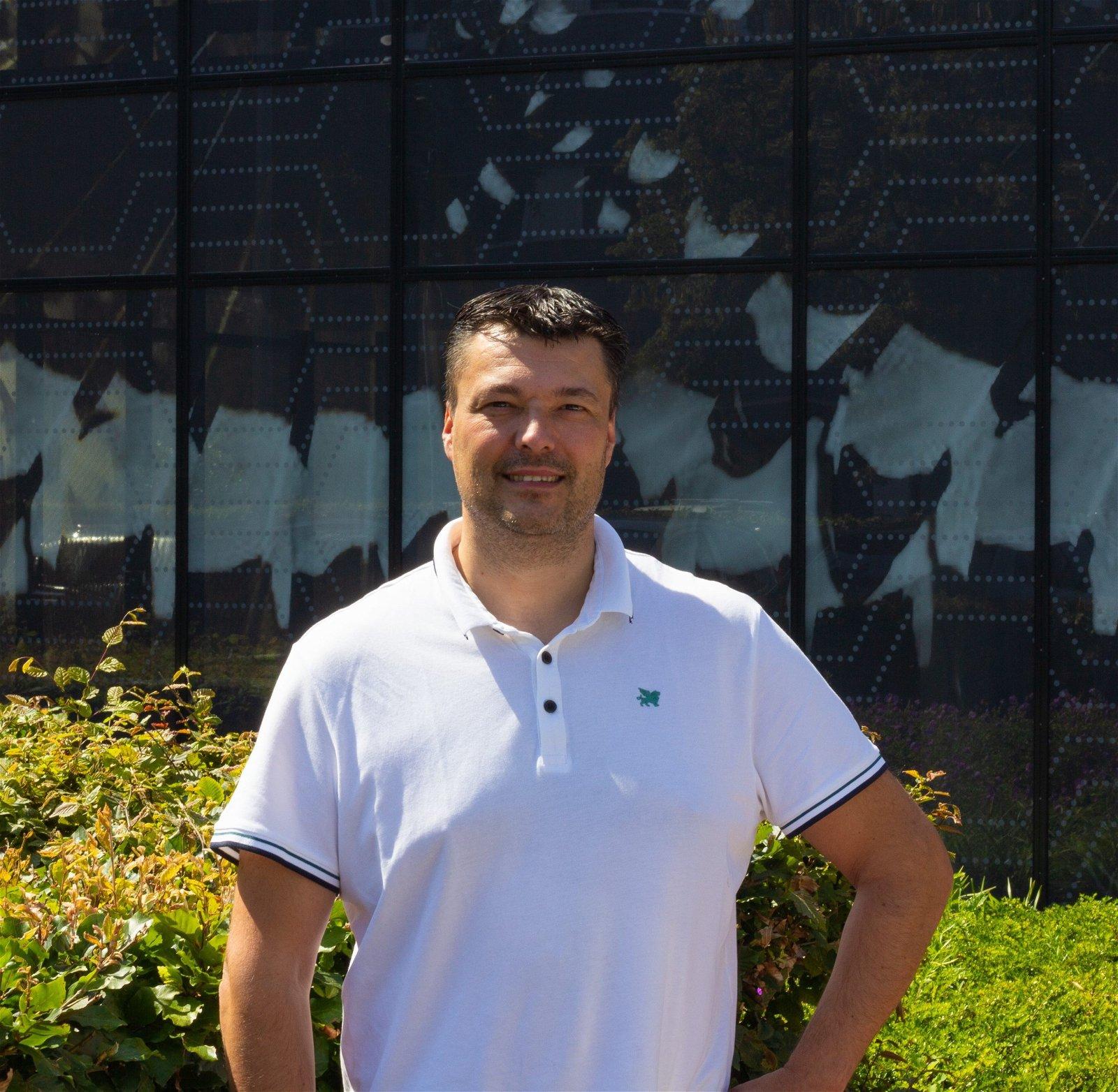 Rob Donkers Projectcoördinator Hoppenbrouwers Techniek Roparun