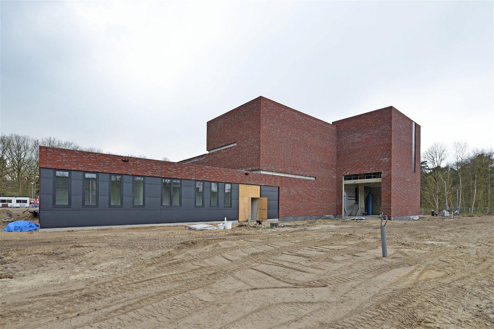 Nieuwbouw waterproductiebedrijf Brabant Water in Schijf